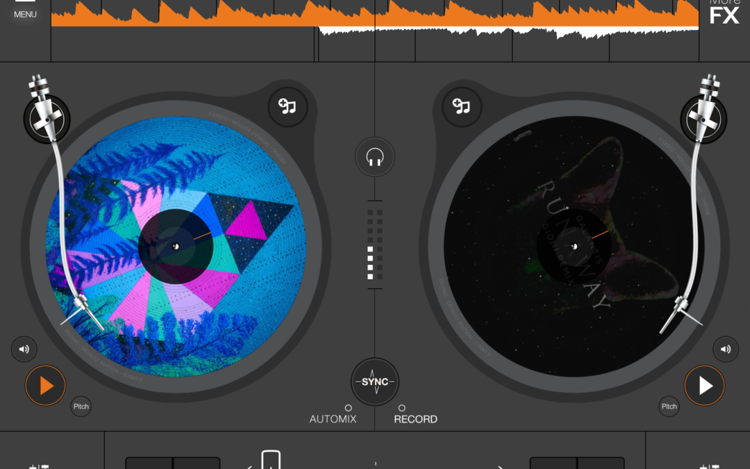 edjing – Dj Software (iPad)