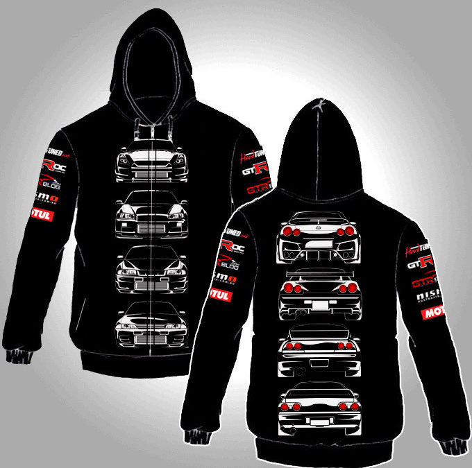 Brand New in Box HardTuned GTR Hoodie – For Sale