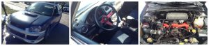 Subaru WRX Collage 1